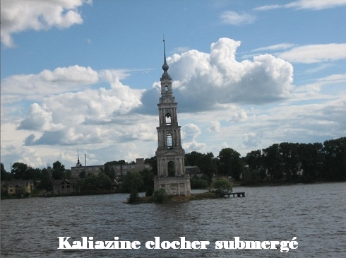 Kaliazine clocher submergé