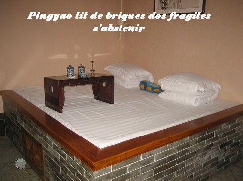 lit de brique
