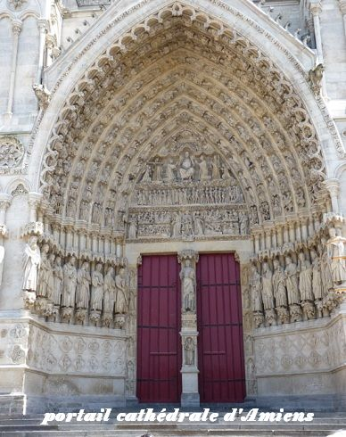 portail cathédrale Amiens