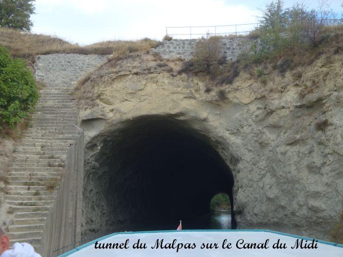 03 tunnel sur le Canal du Midi