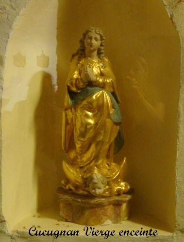 05 Vierge enceinte Cucugnan