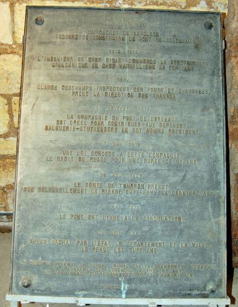 25 plaque centenaire
