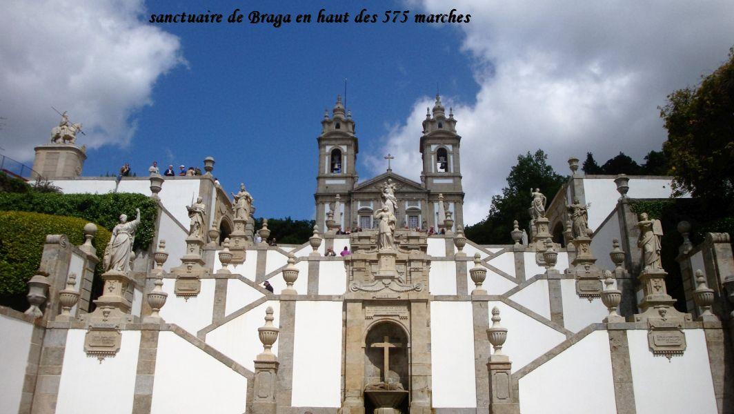 19 sanctuaire Braga vu de l'escalier