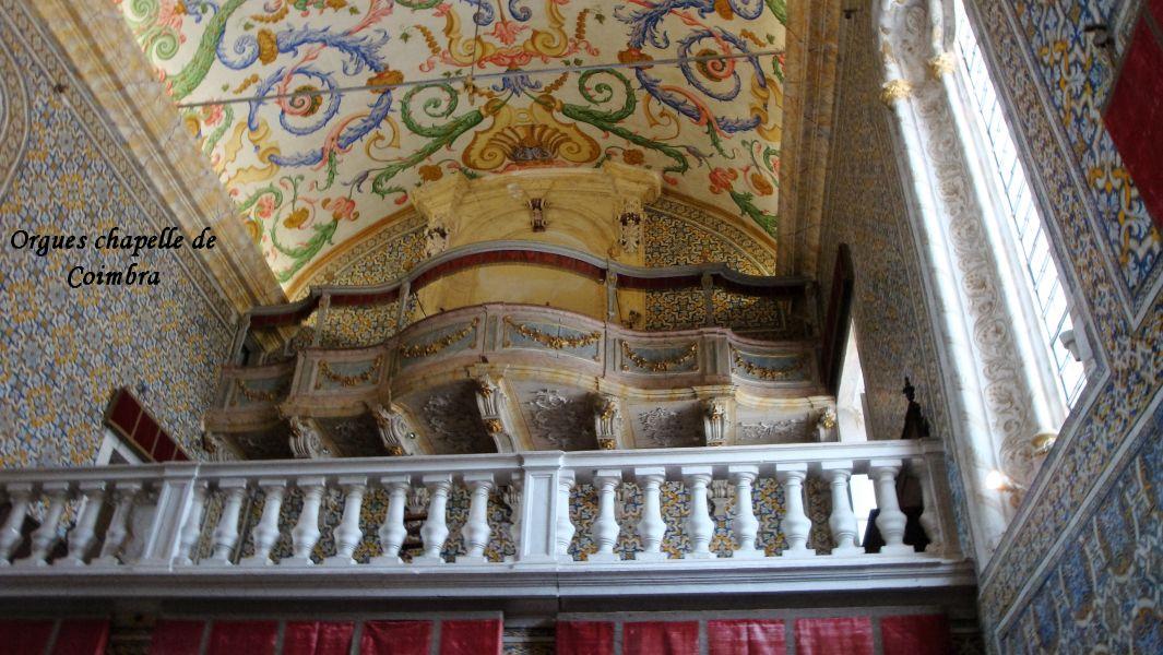 34 orgues chapelle Coimbra