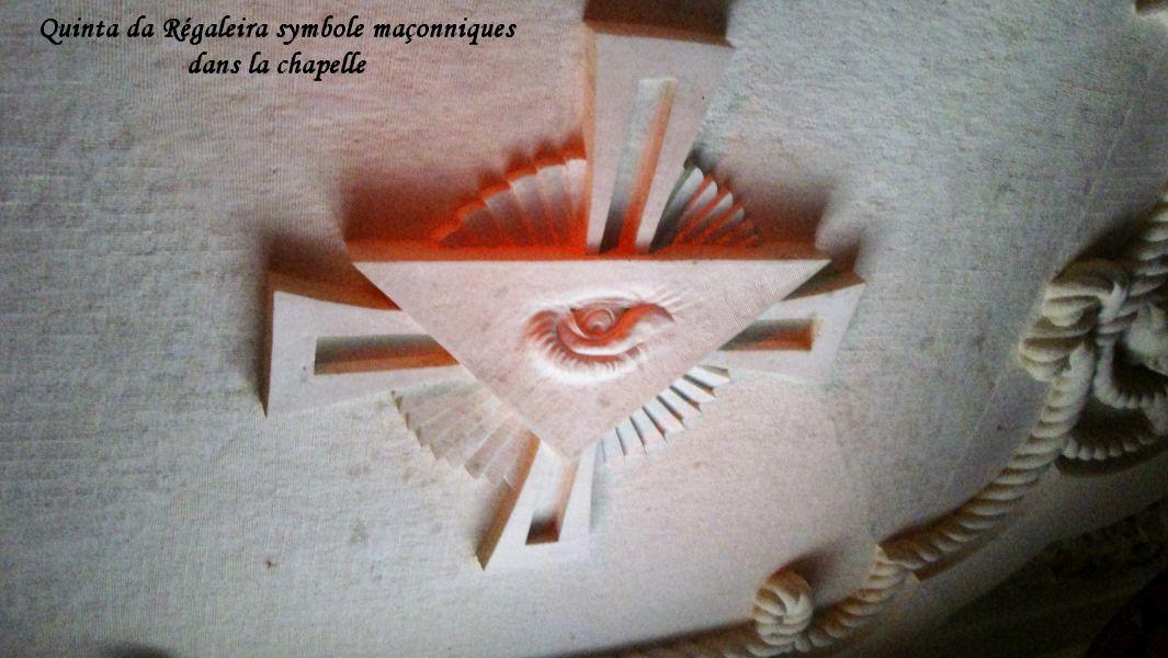 51 symboles maçonniques au dessus croix templiers