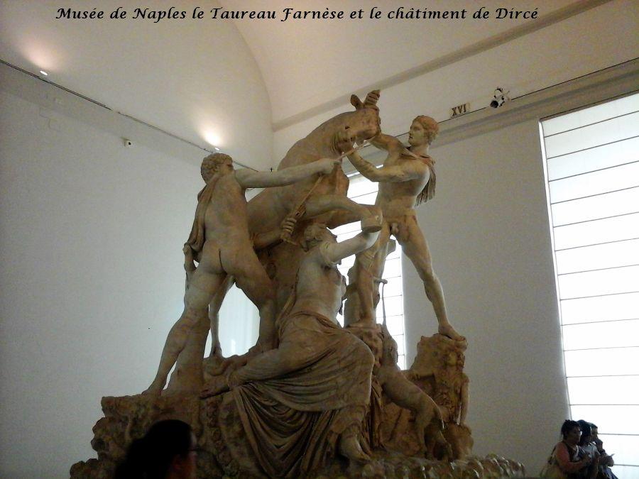 10 Naples taureau Farnèse châtiment de Dircé