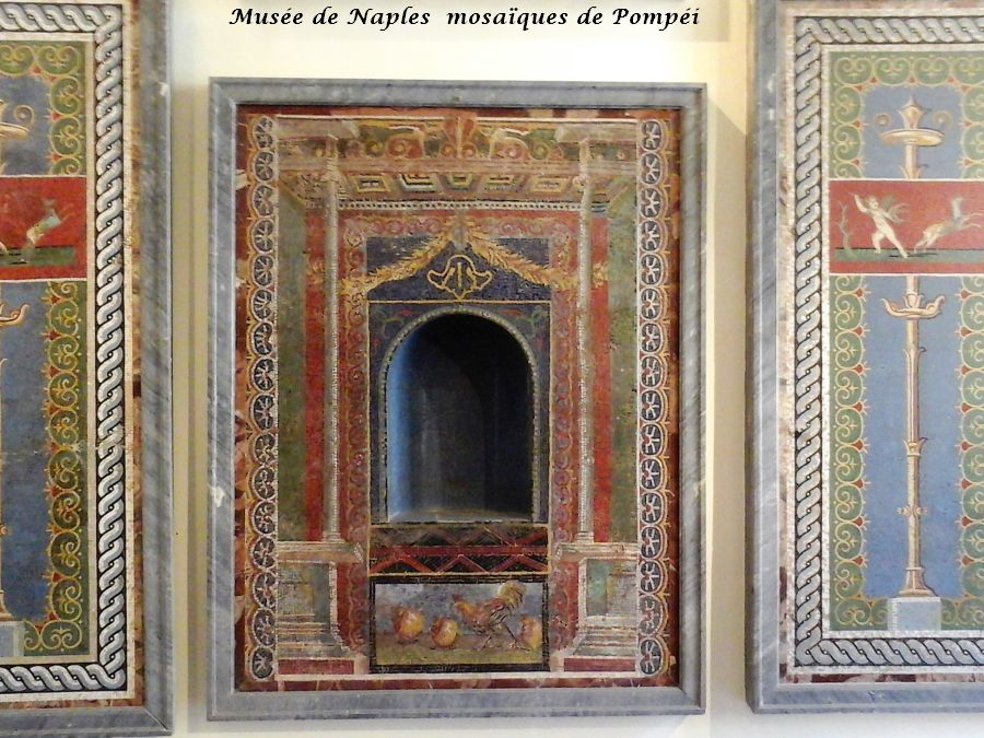 12 Naples mosaiquess de Pompéi