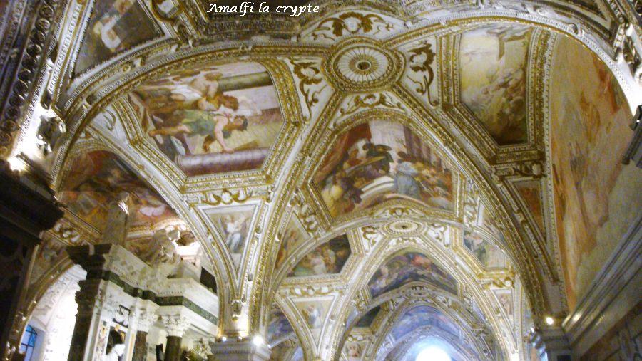 12 crypte église Amalfi