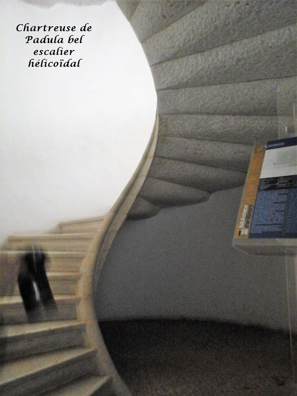 14 escalier Hélicoidal Padula