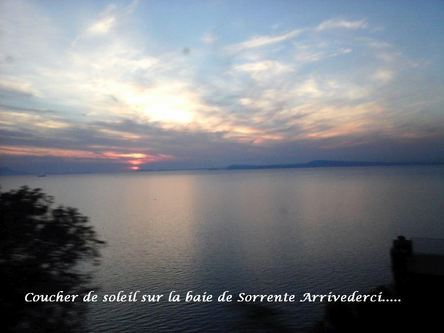 18 coucher soleile golfe de Sorrente