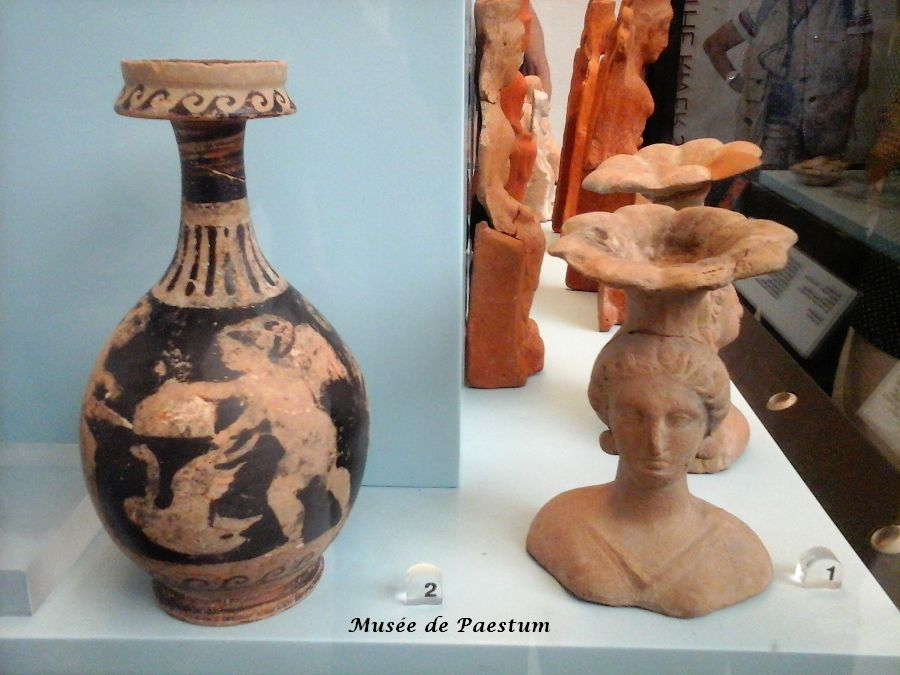 18 objets grecs musae Paestum