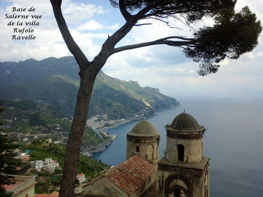 21 golfe de Salerne vu de la villa Rufolo