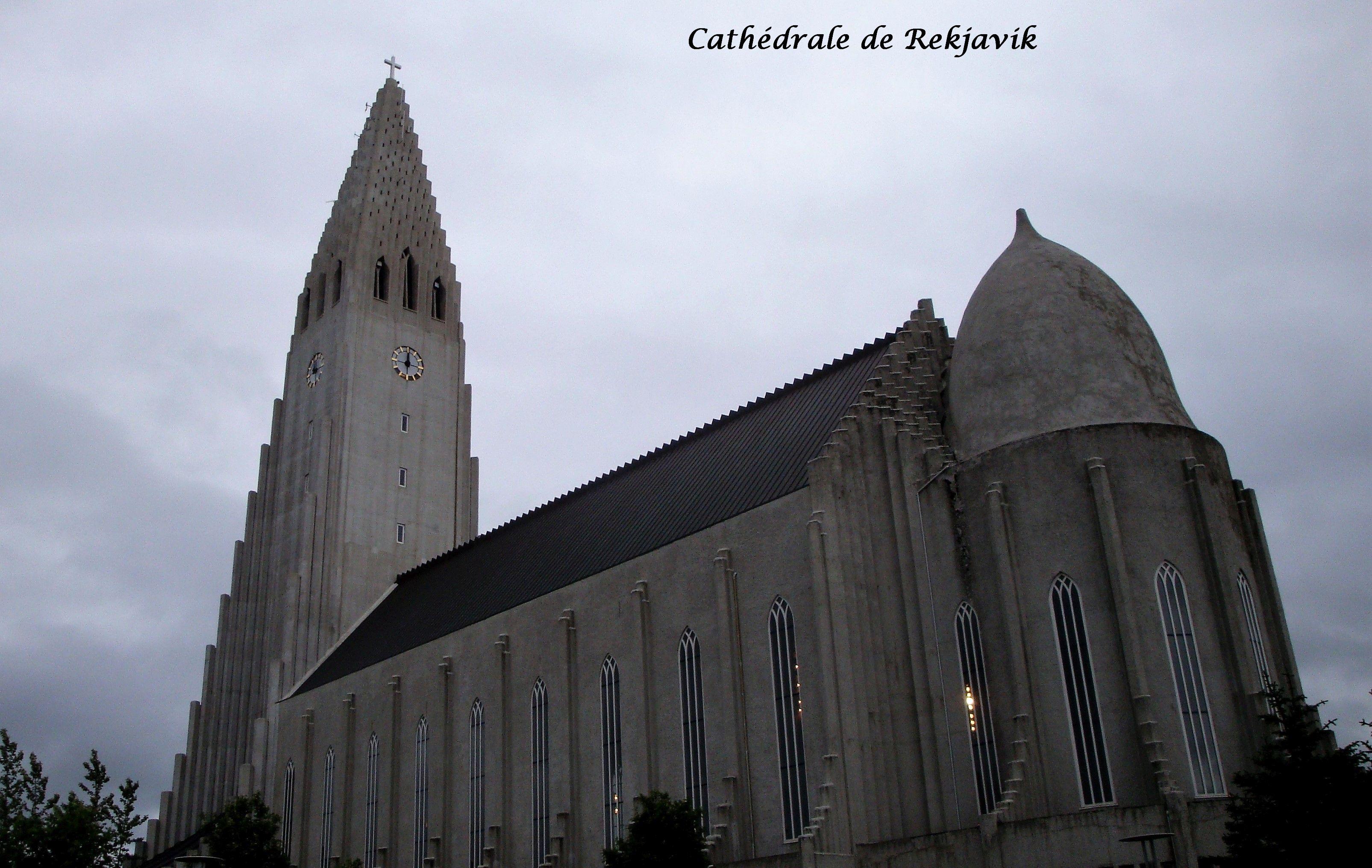 003 Reykjavik cathédrale Hallgrimskirkja