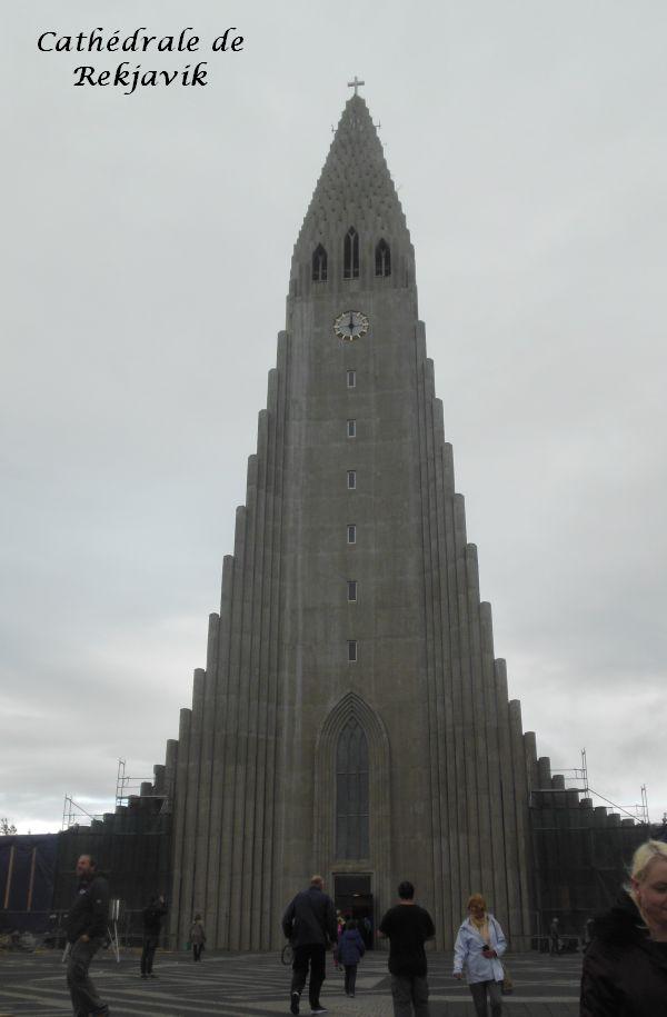 004 Reykjavik cathédrale hallgrimskirkja