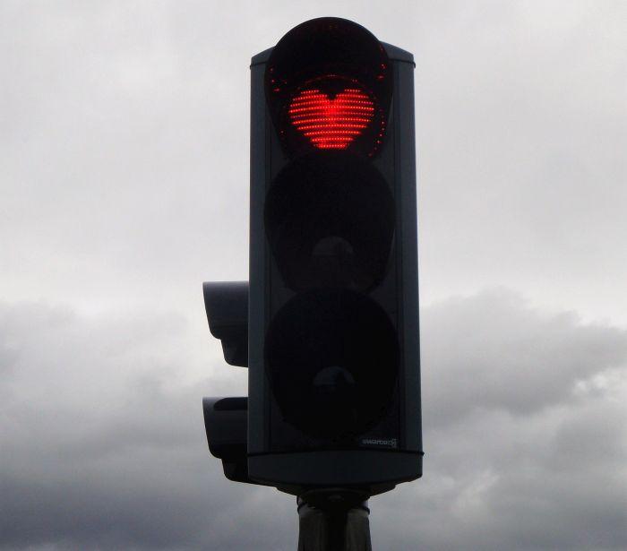 10 feu rouge coeur