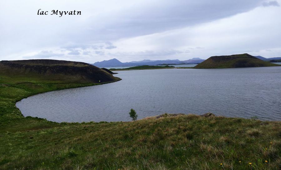 16 lac Myvatn