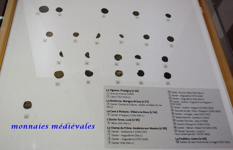 30 monnaies médiévales