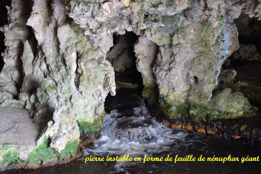 16 lac intérieur et feuille de nénuphar géant en pierre