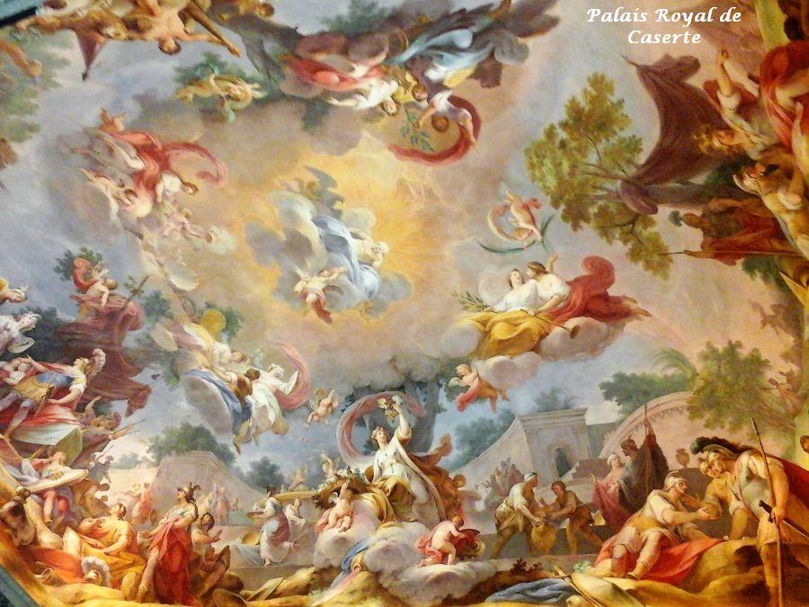 09 plafond palais royal Caserte