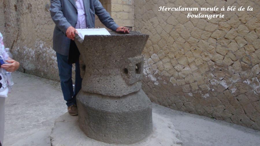 19 meule à grains Herculanum