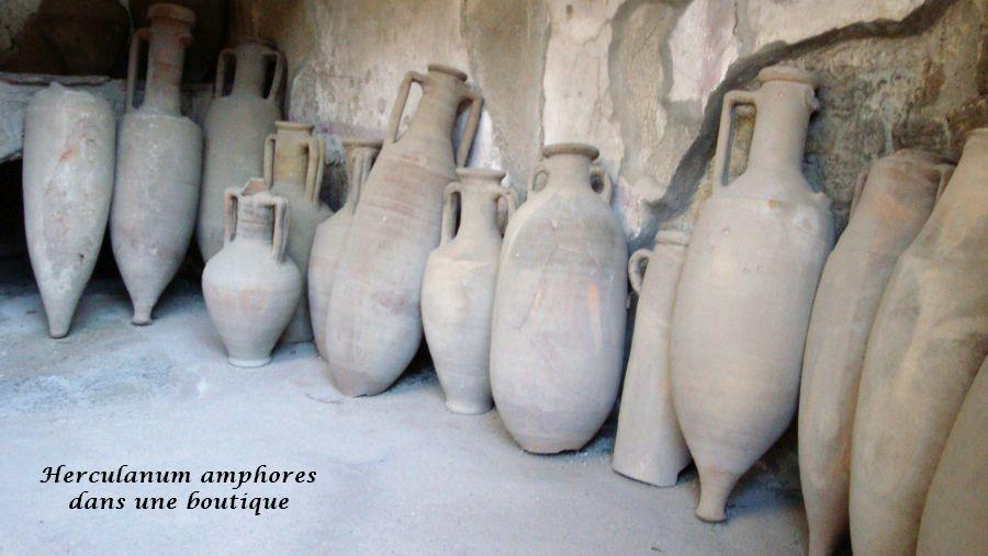 22 amphores Herculanum