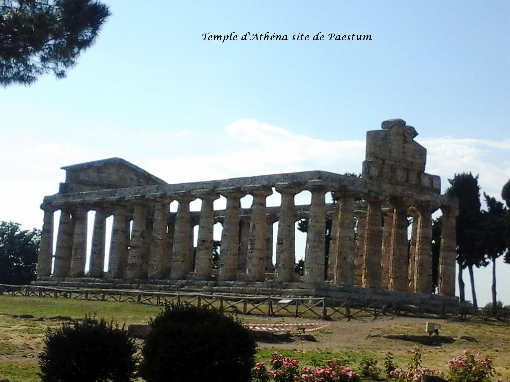 26 Paestum temple Athéna